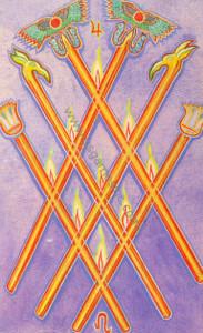 6 wands